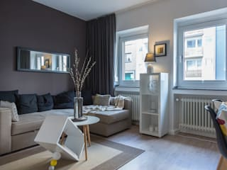Woonkamer door edit home staging
