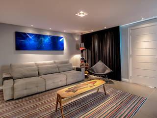 VL Arquitetura e Interiores Salas de estilo moderno