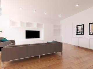 Apartamento Moderno:  de estilo  de Youdekor