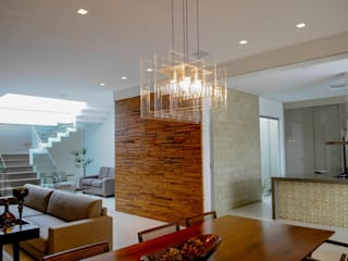Residência AVS: Salas de jantar  por A/ZERO Arquitetura