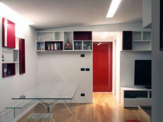 T+T ARCHITETTURA Salas de estar minimalistas