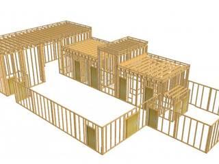 WoodLab Minimalist event venues Wood Beige