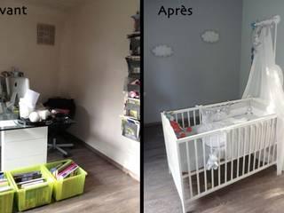 Aménagement d'une chambre de bébé par Archicosy
