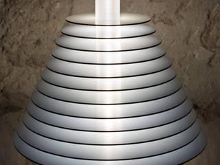 """Lampe à poser """"Babel Abat jour"""" par Alain Pelletier Luminaires Éclectique"""