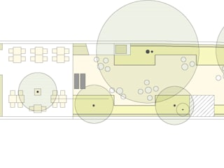 Gastronomi Modern Oleh Habitat Arquitectura Paisagista Modern