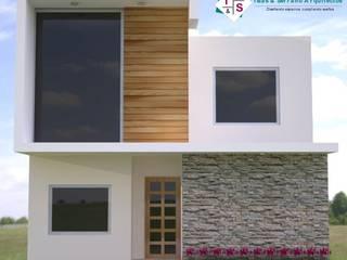 Casa muestra Casas minimalistas de ISLAS & SERRANO ARQUITECTOS Minimalista