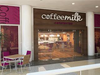 CoffeeMilk San Cristobal: Restaurantes de estilo  por Arq.AngelMedina+