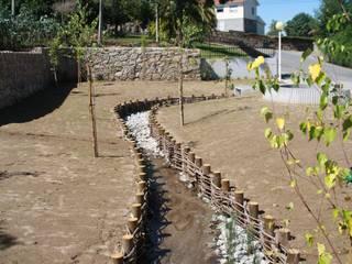RIBEIRA DA ÍNSUA I BRAGA: Locais de eventos  por Habitat Arquitectura Paisagista,Campestre