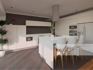 Apartamento Tucacas. Comedores de estilo minimalista de Arq.AngelMedina+ Minimalista