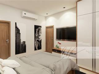 Apartamento Tucacas. Cuartos de estilo minimalista de Arq.AngelMedina+ Minimalista