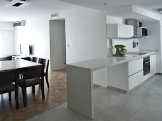 Cocina integrada - Después de reforma de BAM! arquitectura