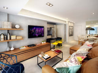 Modern living room by SESSO & DALANEZI Modern