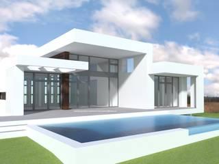 DYOV STUDIO Arquitectura, Concepto Passivhaus Mediterraneo 653 77 38 06 Белый