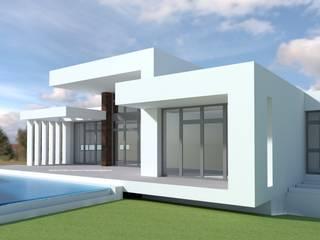 DYOV STUDIO Arquitectura, Concepto Passivhaus Mediterraneo 653 77 38 06 Villas Limestone White