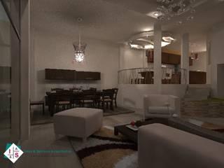 Interiorismo CF Salones modernos de Estudio 289 Moderno