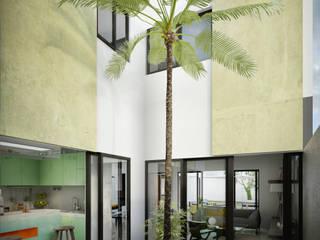 Giardino moderno di mousa / Inspiración Arquitectónica Moderno