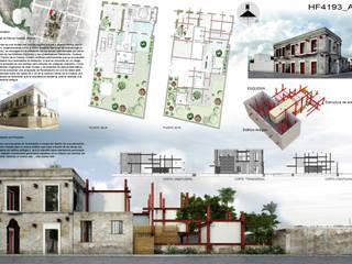 mousa / Inspiración Arquitectónica Case in stile rustico