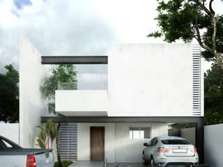 Case in stile minimalista di mousa / Inspiración Arquitectónica Minimalista