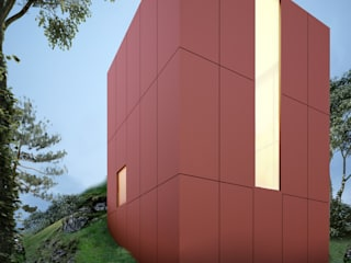 Case moderne di mousa / Inspiración Arquitectónica Moderno