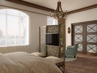 """Спальня """"Ombre di amore"""" Спальня в средиземноморском стиле от Студия дизайна Дарьи Одарюк Средиземноморский"""