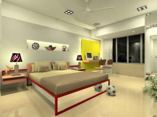 Children's bedroom:  Bedroom by A.S.Designs