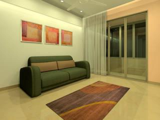 Guest Bedroom:  Bedroom by A.S.Designs