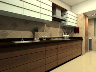 Kitchen Modern kitchen by A.S.Designs Modern Plywood