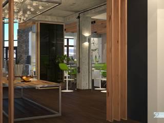 Утечино Коридор, прихожая и лестница в стиле лофт от DS the Universe Лофт