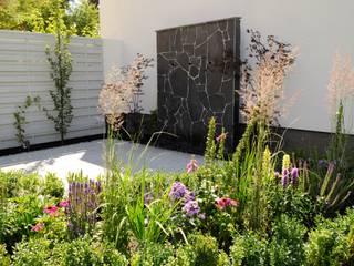 Ogród miejski z fontanną od Naturalnie - Studio Projektowe