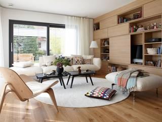 Salas de estar modernas por Burkhard Heß Interiordesign Moderno