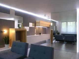 t design Modern kitchen MDF Grey