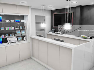 Propuesta de Tienda Electronica: Oficinas y Tiendas de estilo  por Arq.AngelMedina+