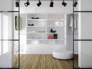 غرفة الملابس تنفيذ Progetti Architektura