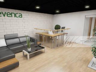 Proyecto de Oficinas Enrevenca - la Quizanda de Arq.AngelMedina+ Minimalista