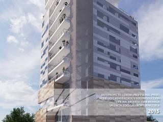 Centro Profesional Prebo Casas de estilo minimalista de Arq.AngelMedina+ Minimalista