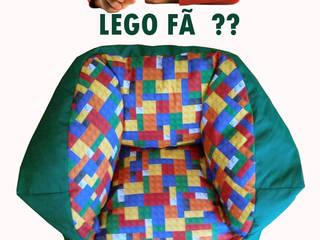 Puff Médio por Textilpuff Moderno
