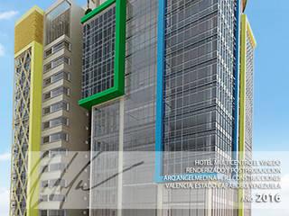 Hotel Multicentro Vinedo Casas modernas de Arq.AngelMedina+ Moderno