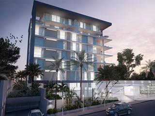 Residencias D9 Casas de estilo minimalista de Arq.AngelMedina+ Minimalista
