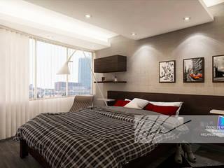 Minimalist bedroom by Arq.AngelMedina+ Minimalist Concrete