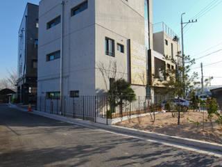 전원주택으로도 손색없는 다가구주택 [경기도 성남 시흥] 모던스타일 주택 by 한글주택(주) 모던