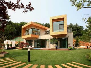 풍경,그곳에 살어리 랏다 [발트하임 설악] 모던스타일 주택 by 한글주택(주) 모던