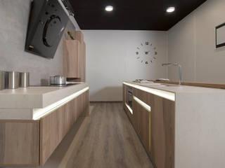 Feria espacio cocina 2016 Cocinas de estilo moderno de Lebana Moderno