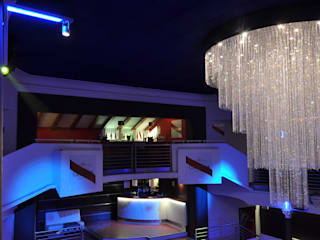 DISCOTECA MINNAMORO GLIP | The Lighting Partner Bar & Club moderni