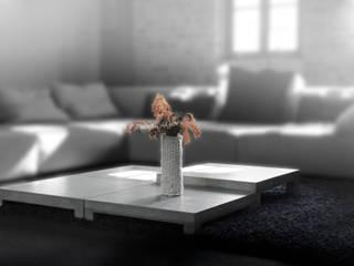 Nehmt Platz am Betontisch: modern  von BETONIU GmbH,Modern