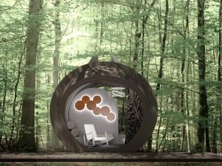 DROP eco-hotel: Hoteles de estilo  de In-Tenta design