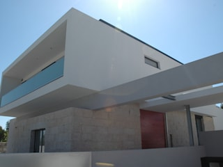 Casa AF Casas minimalistas por BLK-Porto Arquitectura Minimalista