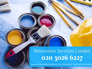 Renovation services London:  Commercial Spaces by Nice and clean London