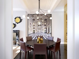 Seaford Court Modern dining room by Recent Spaces Modern