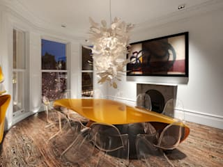 House in Notting Hill by Recent Spaces Modern dining room by Recent Spaces Modern