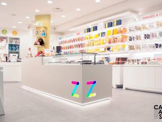 Zucchero Store - Aeroporto di Fiumicino Terminal 3: Negozi & Locali commerciali in stile  di Capasso ARCHITETTI